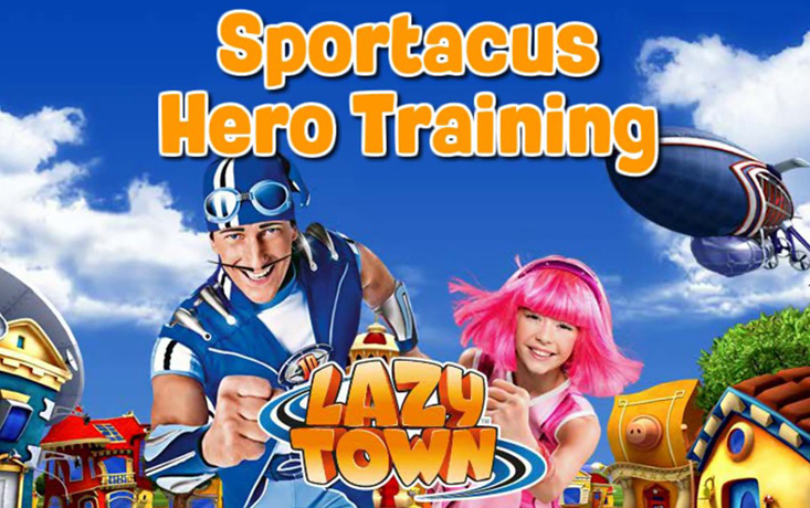 Sportacus Hero Training