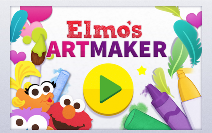 Elmo's Art Maker