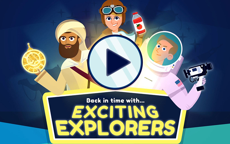 Back in time with... Exciting Explorers