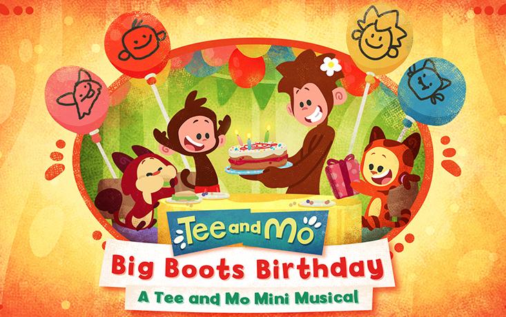 Big Boots Birthday: A Tee and Mo Mini Musical
