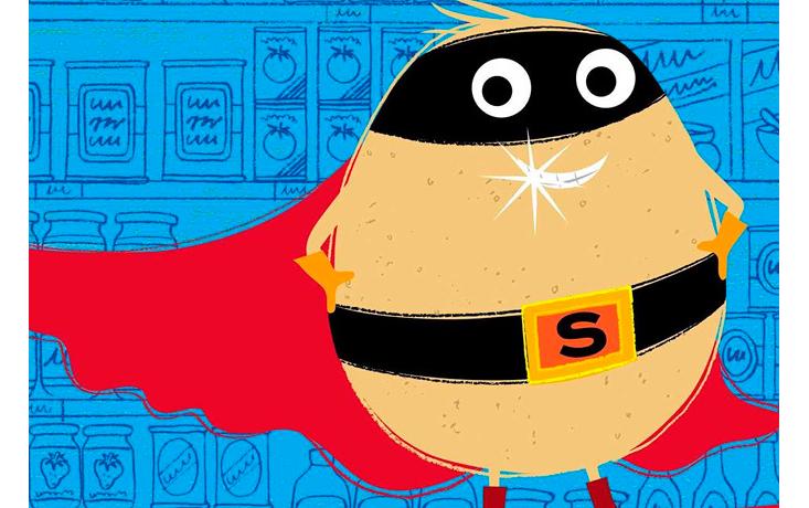 Meet Supertato!